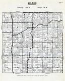 Milton Township, Dodge County 1956
